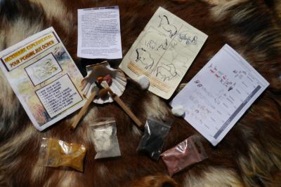 Kit d'ocres pour l'art rupestre
